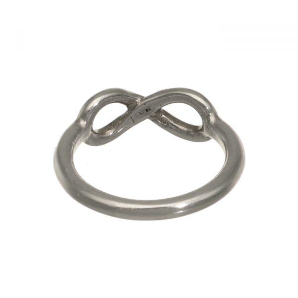 Fedina in argento con simbolo dell'infinito Spadarella