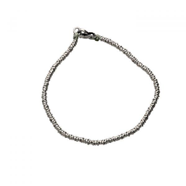 Bracciale ad anelline in argento Spadarella