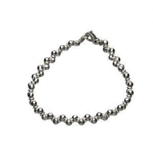 Bracciale argento ed Ematite Spadarella