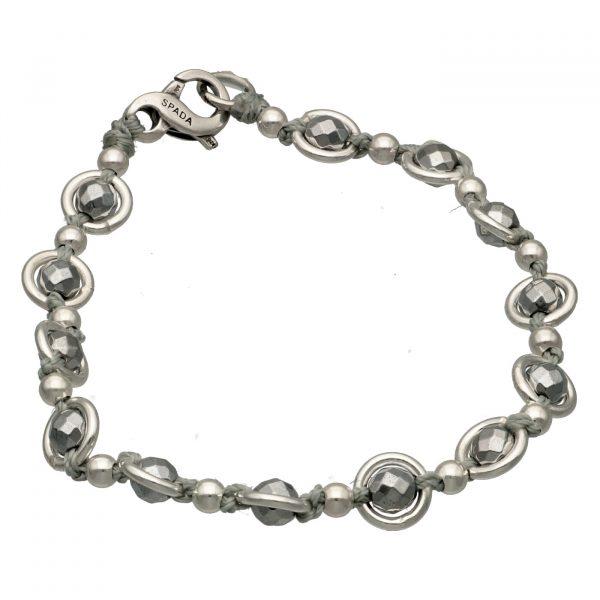 Bracciale argento saturno Spadarella.