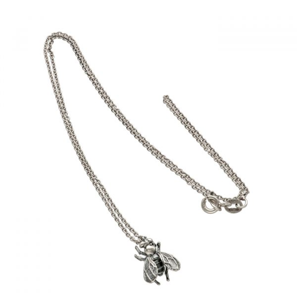Collana in argento con ciondolo mosca - Spadarella