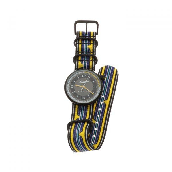 Vespa Watches: orologio al quarzo, cinturino Nato con fibbia acciaio.