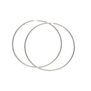 Orecchini ad anello in argento Spadarella