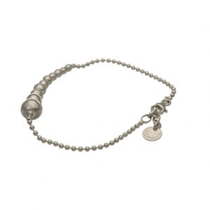 Bracciale con sfere in argento Zoppini