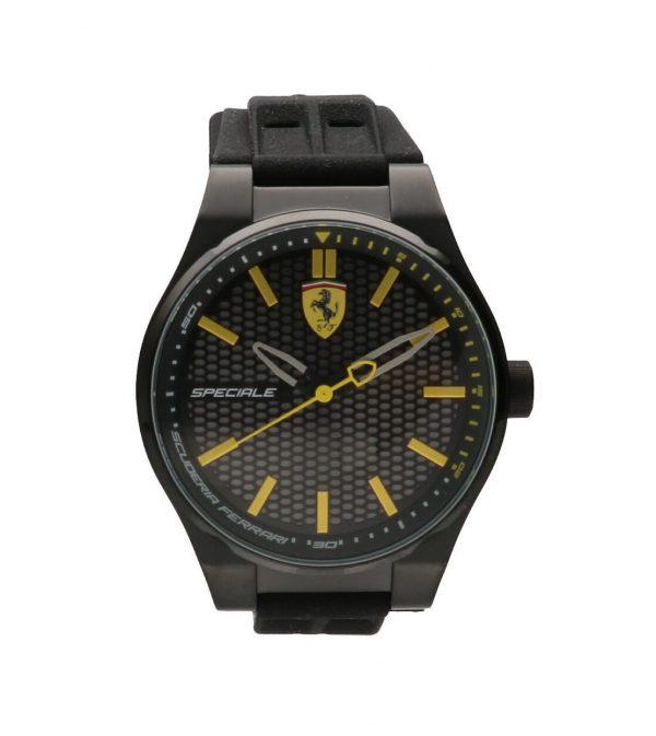 Orologio Scuderia Ferrari - acciaio inox nero