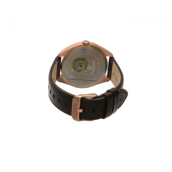 Orologio Scuderia Ferrari - Abetone, orologio in acciaio color oro rosa e cinturino in pelle marrone